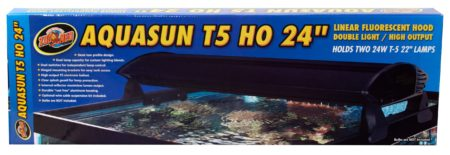 AquaSun® T5 HO Double Light Linear Fluorescent Hoods