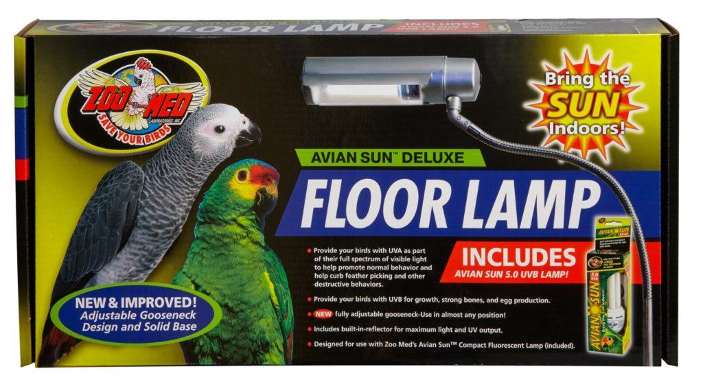 Avian Sun Deluxe Floor Lamp With Avian Sun 5 0 Uvb Lamp