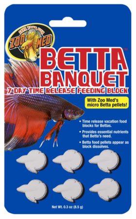 Betta Banquet® 7 Day Release Feeding Block