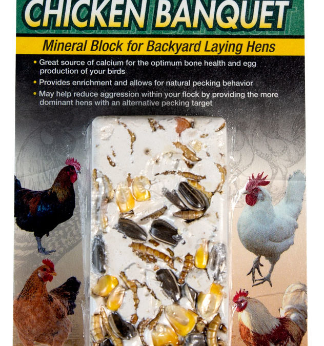 Chicken Banquet Mineral Block