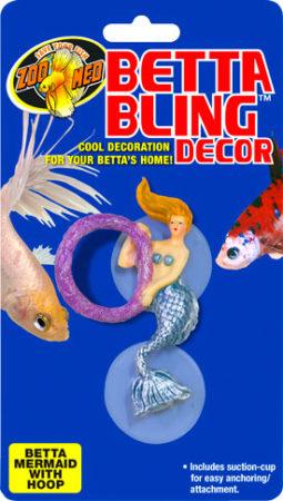 Betta Bling™ Decor - Mermaid w/ Hoop