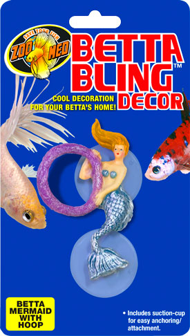 Betta Bling™ Decor – Mermaid w/ Hoop