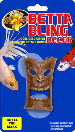 Betta Bling™ Decor - Tiki Mask