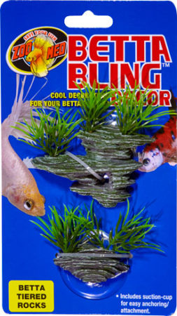 Betta Bling™ Decor - Tiered Rocks