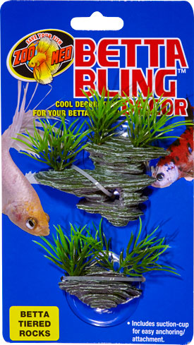 Betta Bling™ Decor – Tiered Rocks