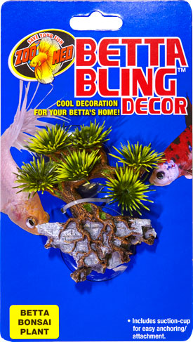 Betta Bling™ Decor – Bonsai Plant