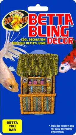 Betta Bling™ Decor - Tiki Bar