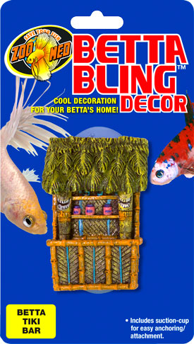 Betta Bling™ Decor – Tiki Bar