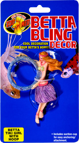 Betta Bling™ Decor – Tiki Girl w/ Loop