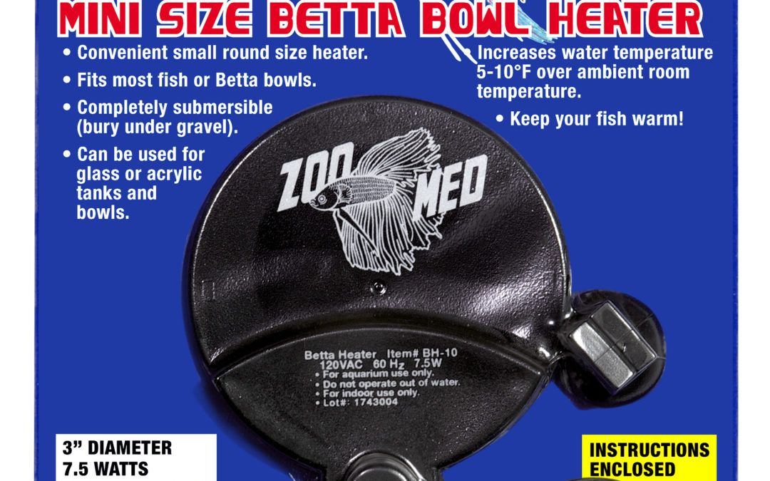 BettaTherm™ Mini Size Betta Bowl Heater