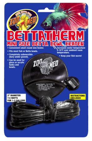 BettaTherm™ Mini Size Betta Bowl Heater