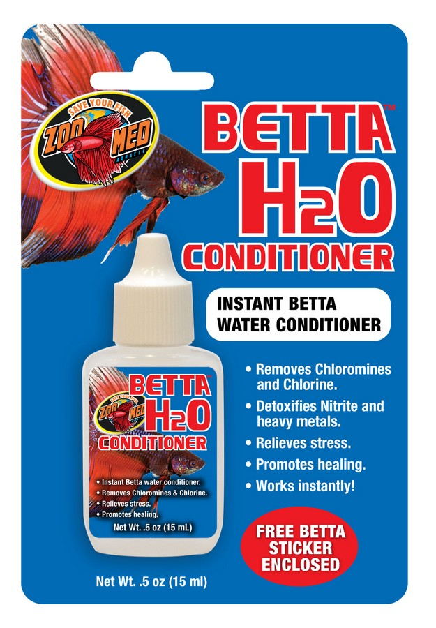Betta H2o Conditioner Zoo Med Laboratories Inc