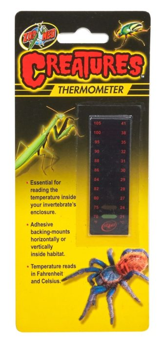 Creatures Thermometer Zoo Med Laboratories Inc