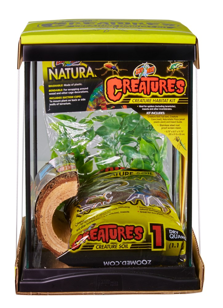 Creatures Creature Habitat Kit Zoo Med Laboratories Inc