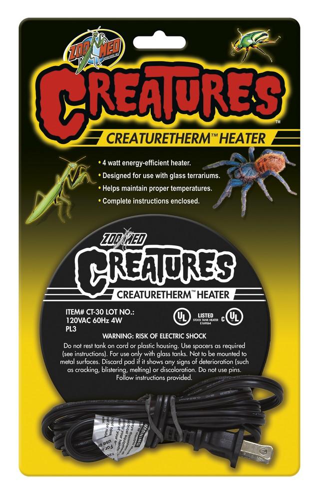 Creatures Creaturetherm Heater Zoo Med Laboratories Inc