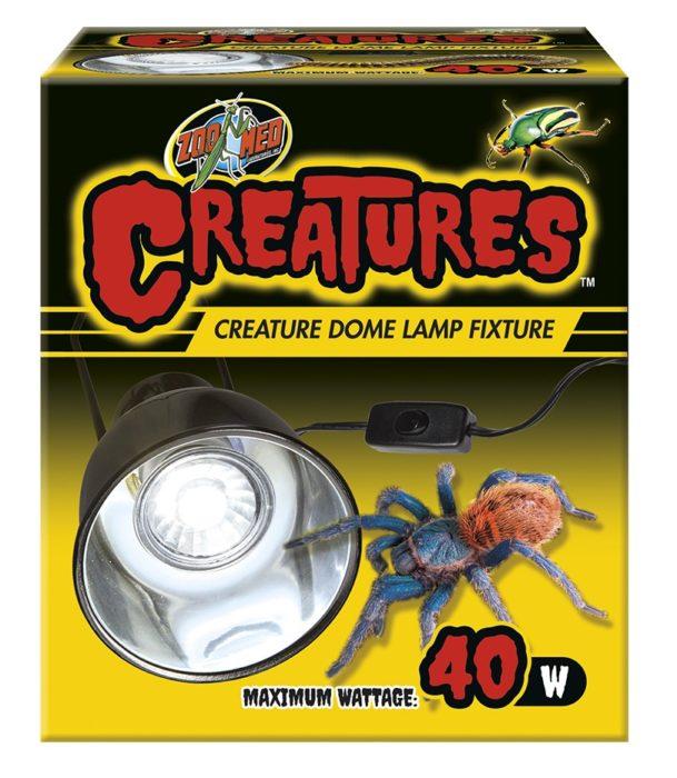 Creatures Dome Lamp Fixture Zoo Med Laboratories Inc