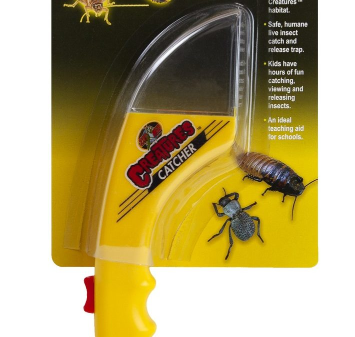 Creatures™ Humane Live Insect Catcher