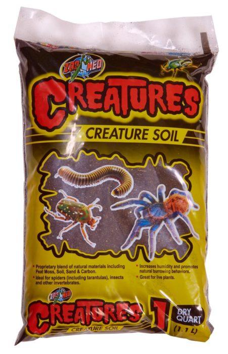 Creatures Creature Soil Zoo Med Laboratories Inc