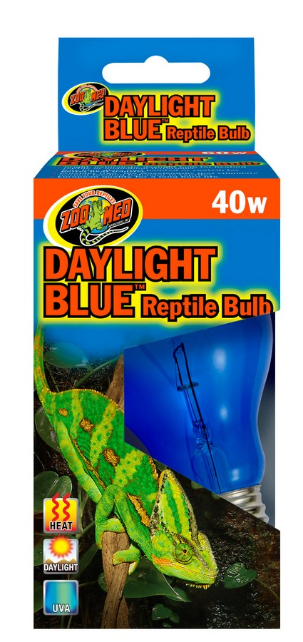 Daylight Blue Reptile Bulb Zoo Med Laboratories Inc