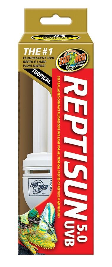 Reptisun 174 5 0 Compact Fluorescent Zoo Med Laboratories Inc