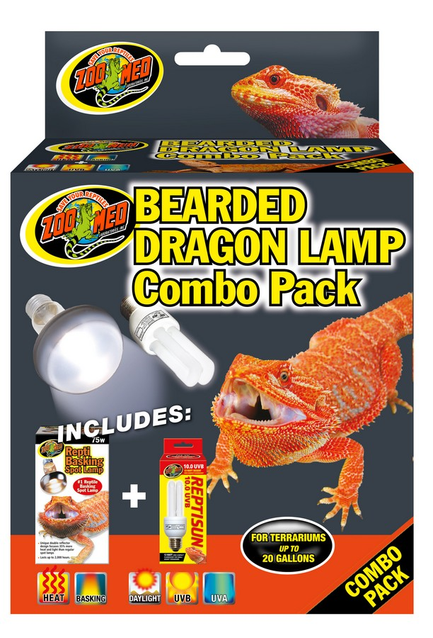 Bearded Dragon Lamp Combo Pack Zoo Med Laboratories Inc