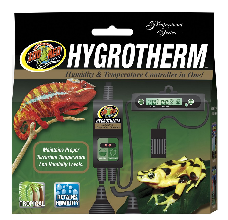 Hygrotherm Humidity Temperature Controller Zoo Med Laboratories Controllers