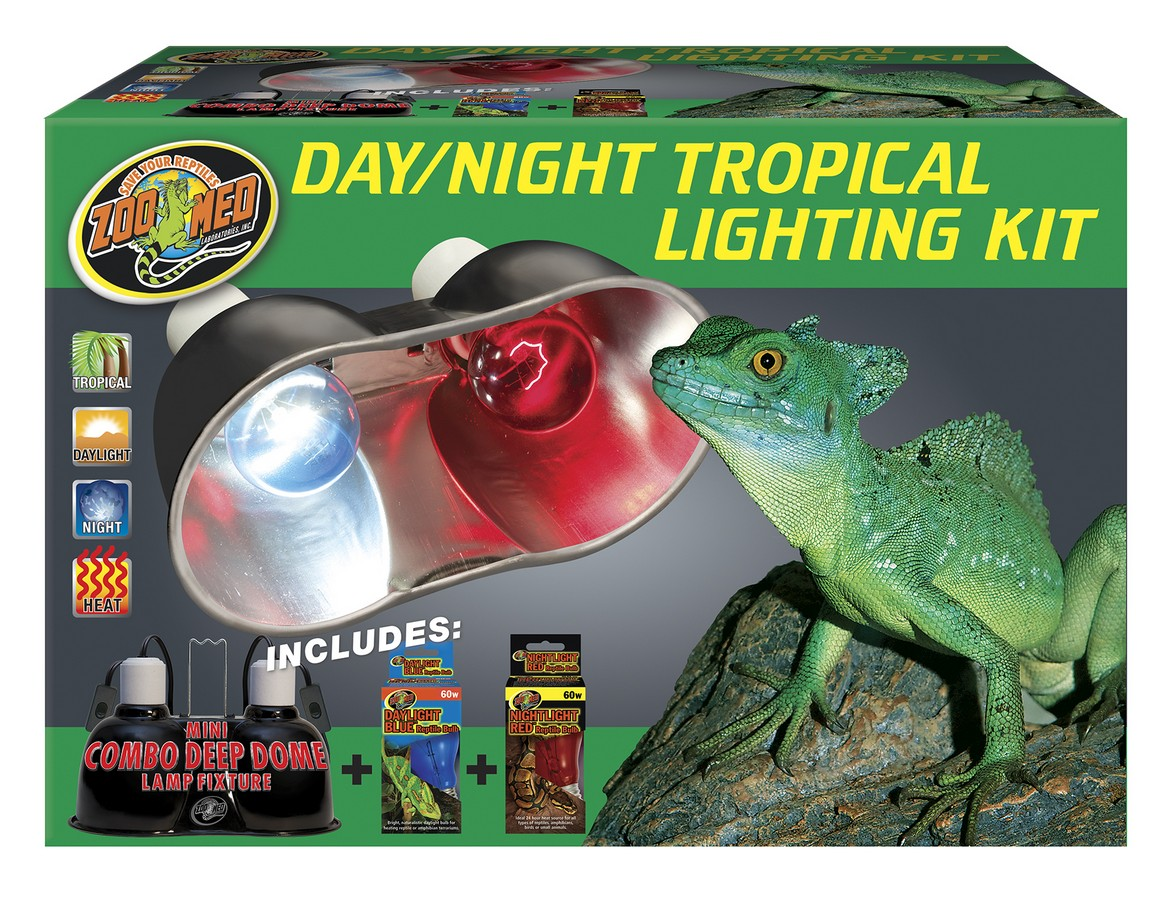 Day Night Tropical Lighting Kit Zoo Med Laboratories Inc