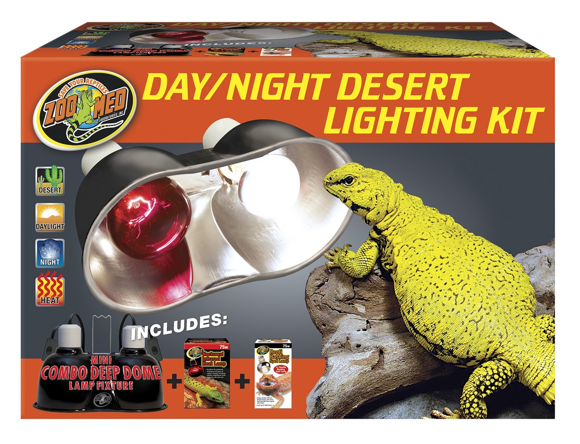 Day Night Desert Lighting Kit Zoo Med Laboratories Inc