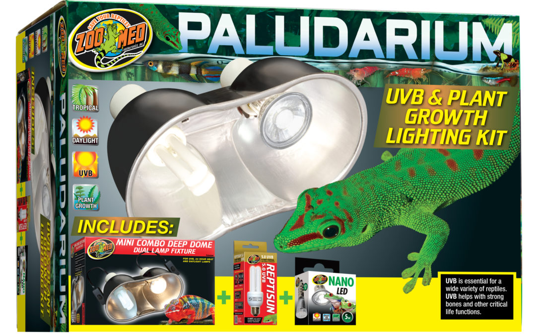 Paludarium UVB & Plant Growth Lighting Kit