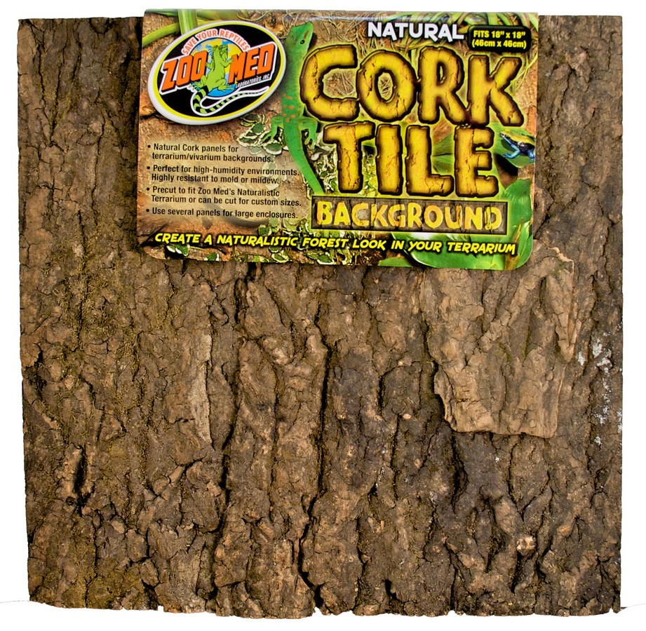 Natural Cork Tile Background Zoo Med Laboratories Inc