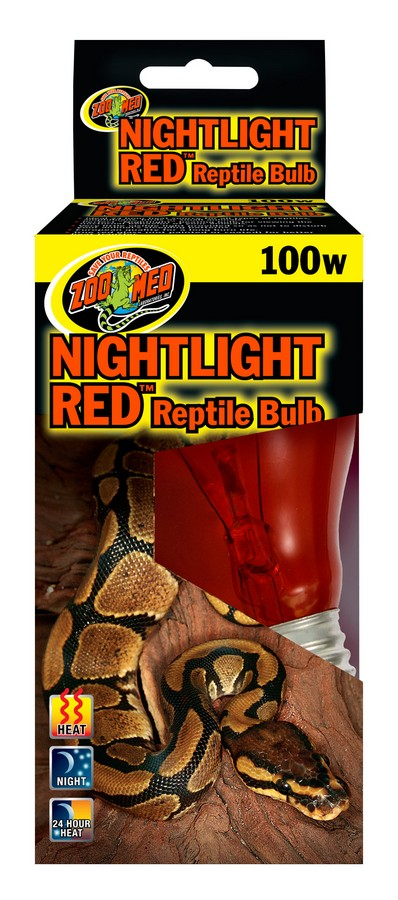 Nightlight Red Reptile Bulb Zoo Med Laboratories Inc