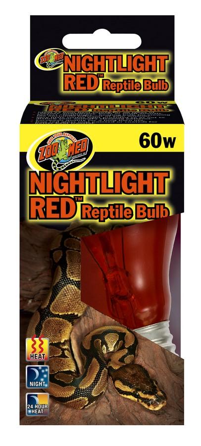 Nightlight Red Reptile Bulb Zoo Med Laboratories Inc