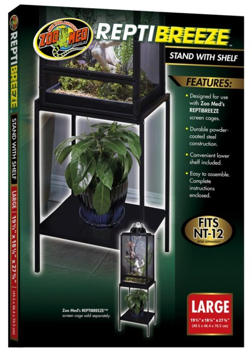 Reptibreeze Stand With Shelf Zoo Med Laboratories Inc