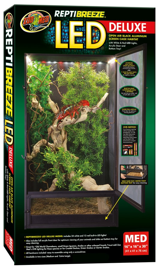 Reptibreeze 174 Led Deluxe Zoo Med Laboratories Inc