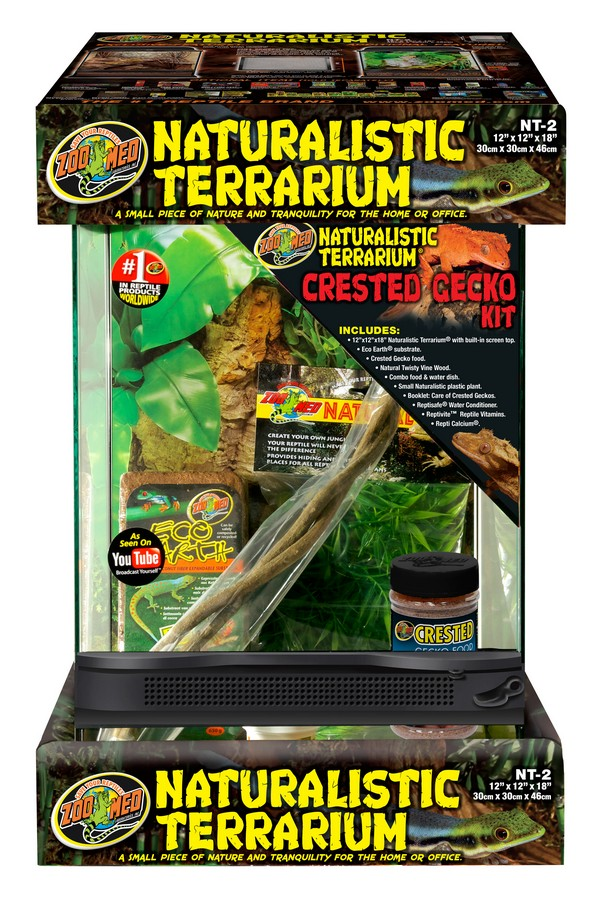 Naturalistic Terrarium 174 Crested Gecko Kit Zoo Med