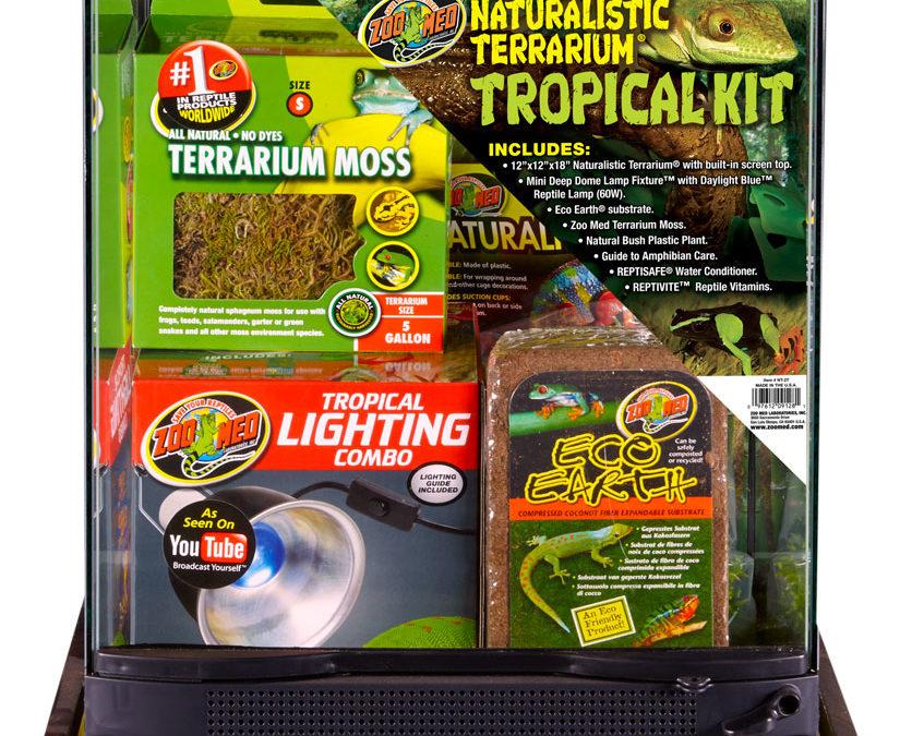 Naturalistic Terrarium® Tropical Kit