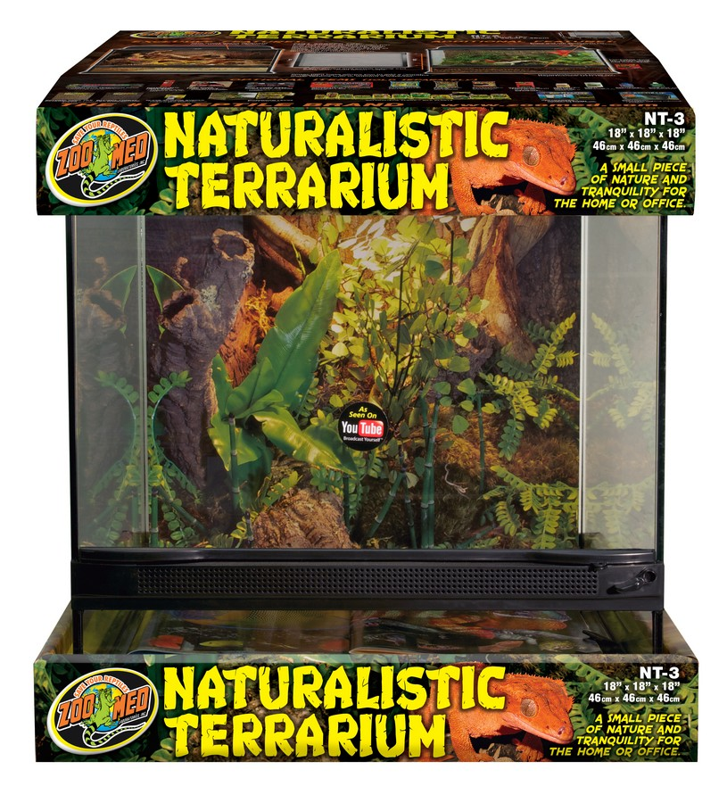 Naturalistic Terrarium 174 Zoo Med Laboratories Inc