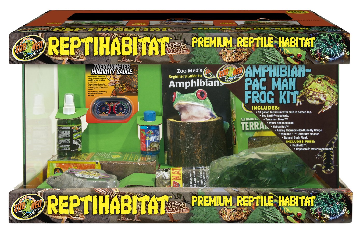 10 Gallon Reptihabitat Amphibian Kit Zoo Med Laboratories Inc