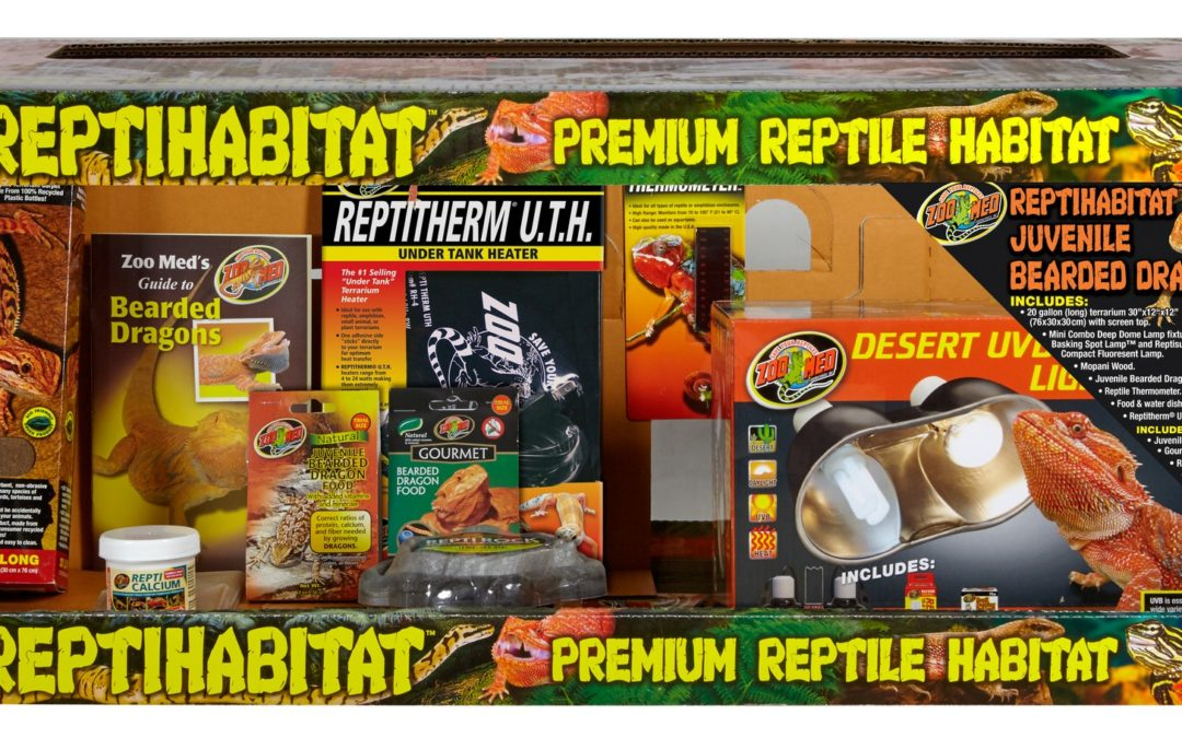 ReptiHabitat Juvenile Bearded Dragon Kit