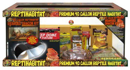 40 Gallon ReptiHabitat™ Bearded Dragon Kit