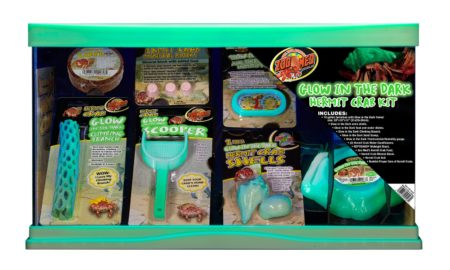 10 Gallon Glow-in-the-Dark Hermit Crab Kit