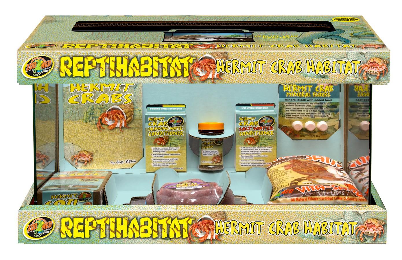 10 gallon reptihabitat hermit crab kit zoo med