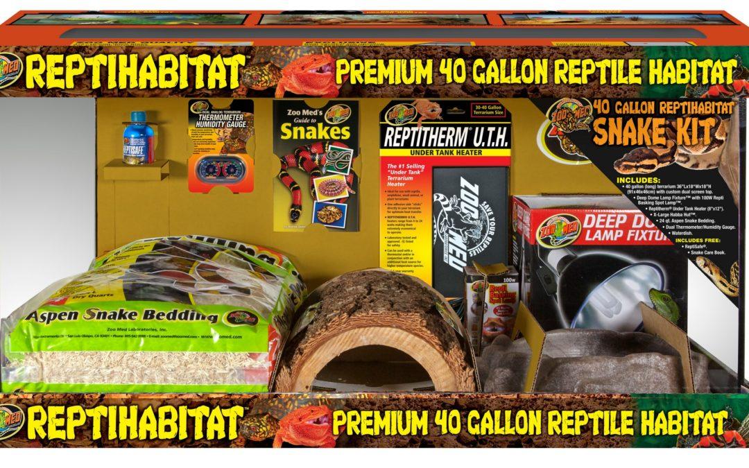 40 Gallon ReptiHabitat™ Snake Kit