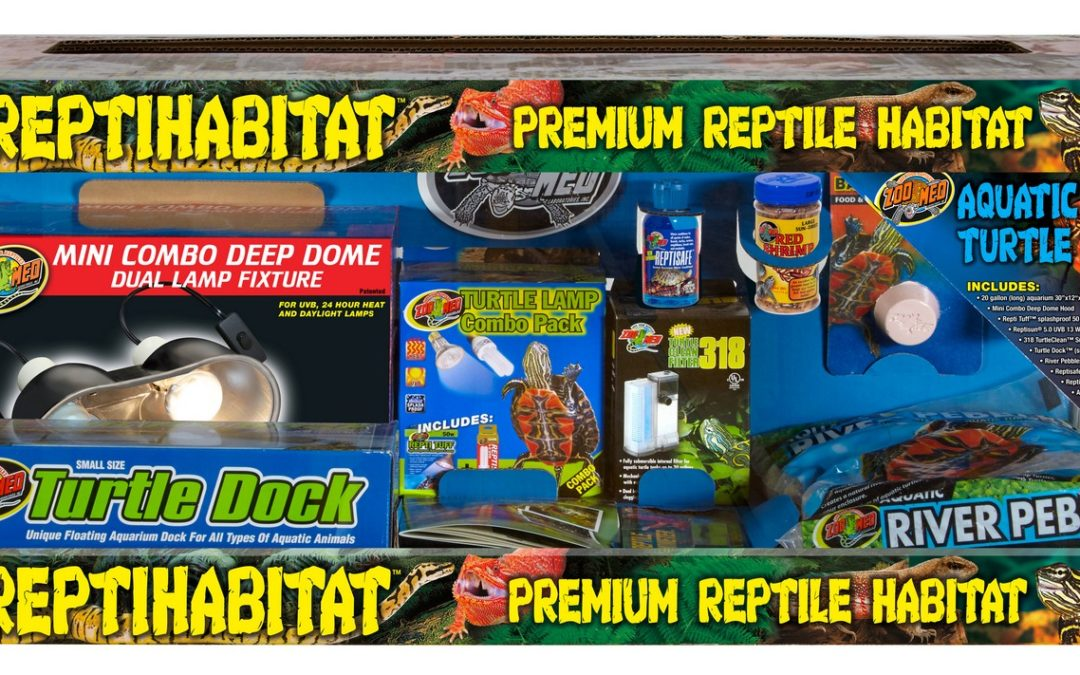 ReptiHabitat Aquatic Turtle Kit