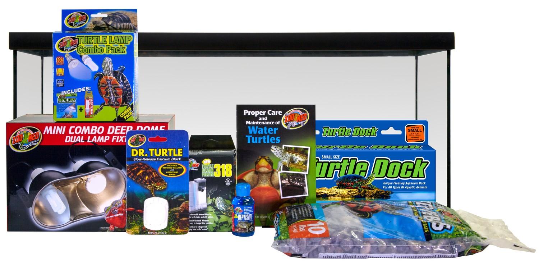 Reptihabitat Aquatic Turtle Kit Zoo Med Laboratories Inc