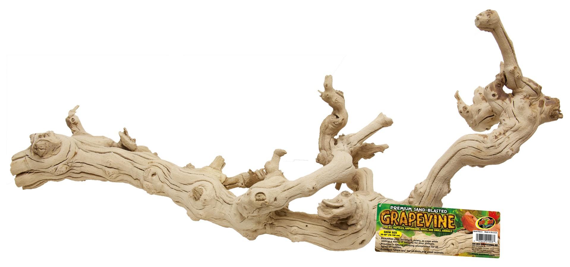Premium Sand Blasted Grapevine Zoo Med Laboratories Inc