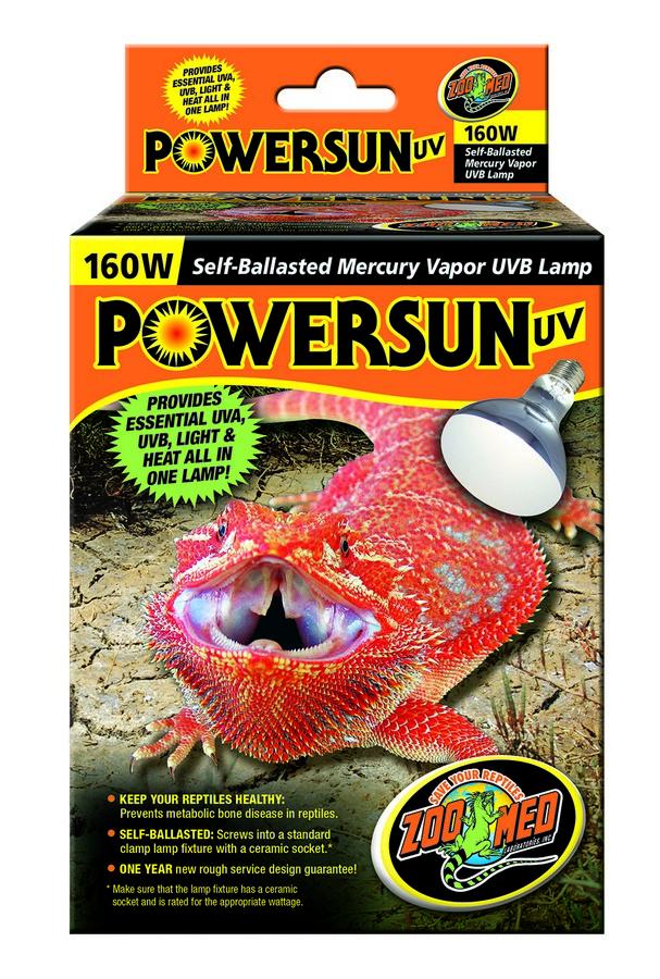 Powersun Uv Zoo Med Laboratories Inc