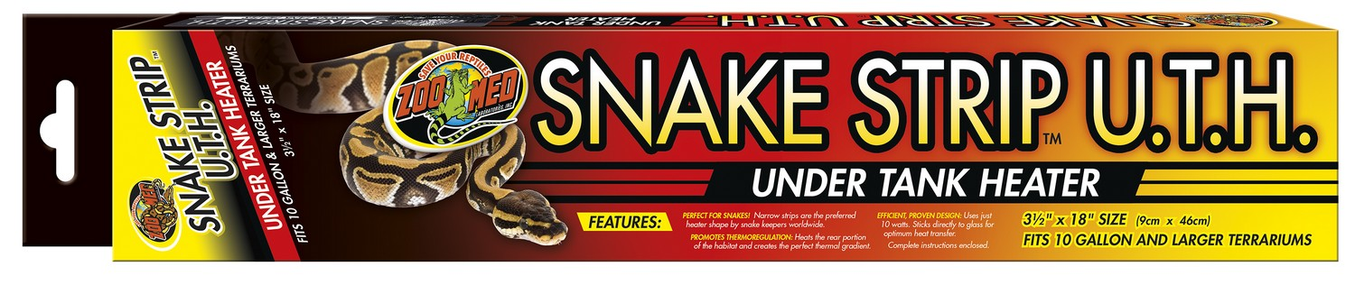 Snake Strip U T H Under Tank Heater Zoo Med
