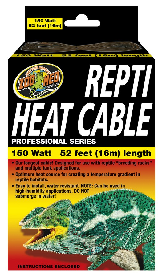 Repti Heat Cable Zoo Med Laboratories Inc