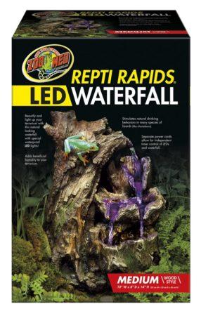 Repti Rapids® LED Waterfall - Medium Wood